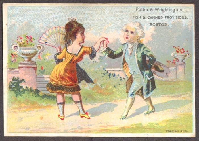 Image for Potter & Wrightington Fish & Provisions trade card