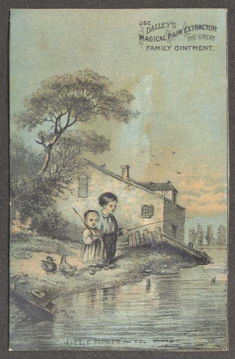 Image for Dalley's Magical Pain Extractor trade card kids fishing