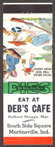 Patio Grill Delgado Phillips 66 Pinedale WY matchcover