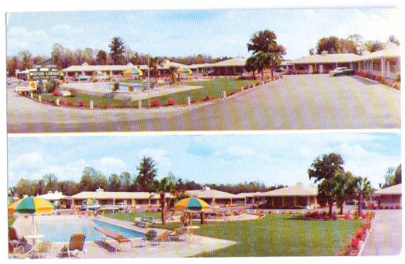 Image for Towne & Country Motor Lodge Savannah GA card 1960s