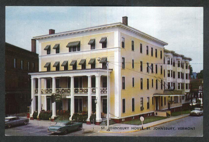 Image for St Johnsbury House hotel postcard VT 1950s