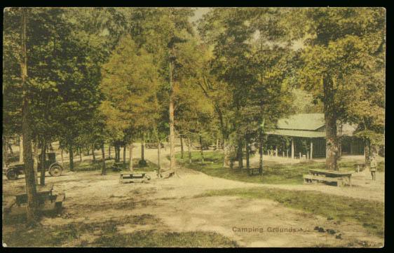 Image for Camp Endless Caverns New Market VA postcard