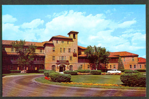 Veterans Administration Building Cheyenne WY postcard