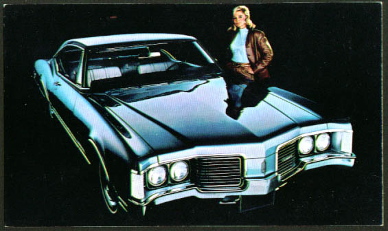 1968 Oldsmobile Delta 88 Coupe postcard