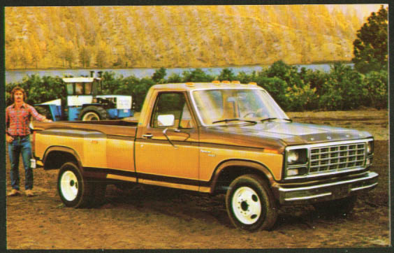 1980 Ford F-350 Pickup 6-wheeler postcard