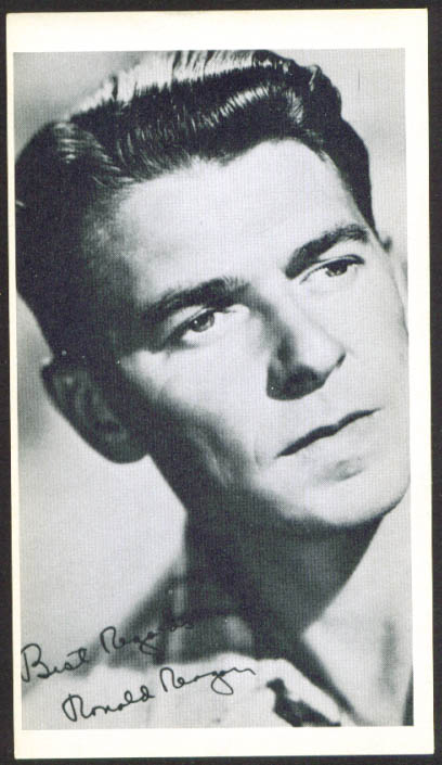 Ronald Reagan 3x5 picture 1950s