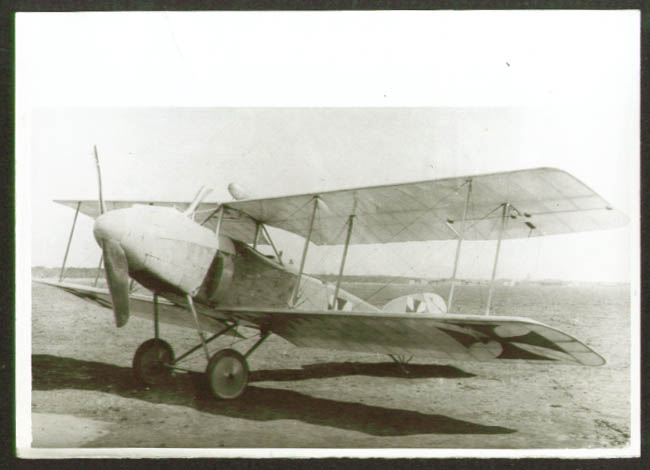 Image for Albatros CV Prototype biplane photo Germany 1920s