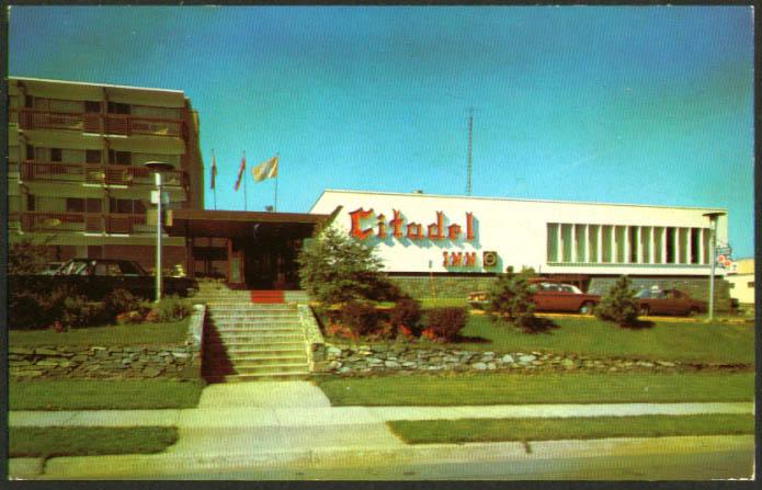 Citadel Inn Brunswick St Halifax NS postcard 1960s