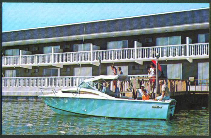 Red Carpet Resort Clearwater Beach FL postcard 1972