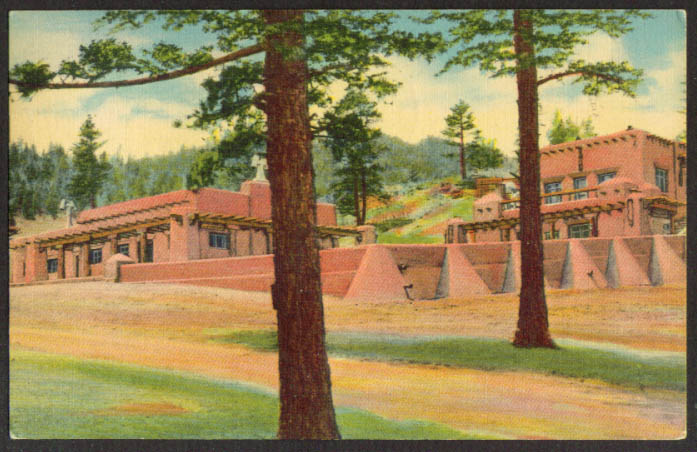 Kendall Community House Trinidad CO postcard 1940s