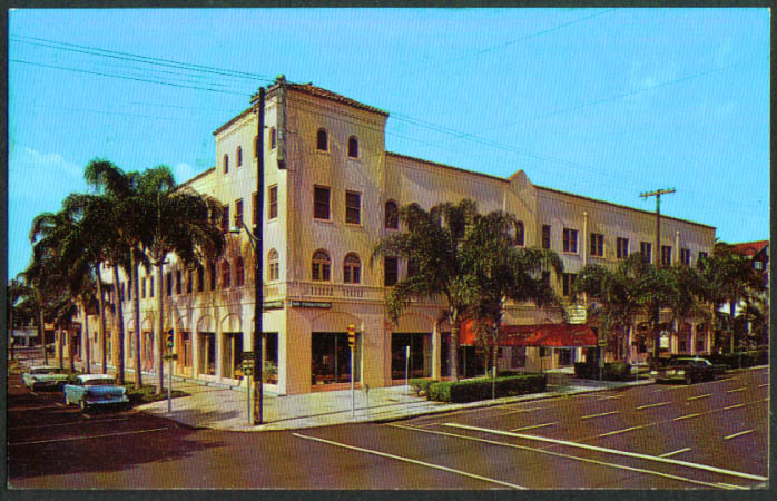 Concord Hotel St Petersburg FL postcard 1950s