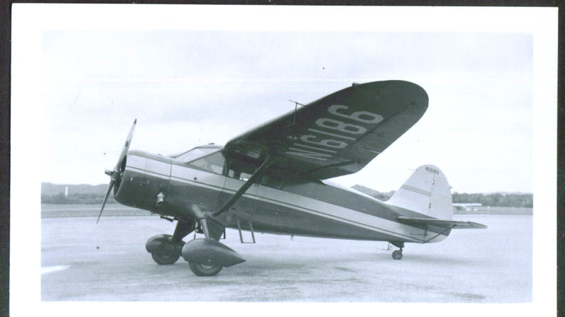 1936 Stinson SR-8B photo TN N16186