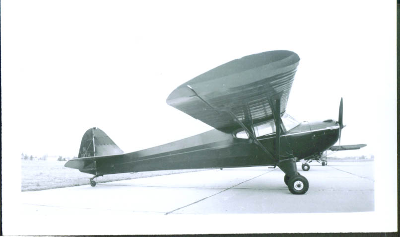 Image for 1941 Taylorcraft Model BC12-65 photo TN N197H