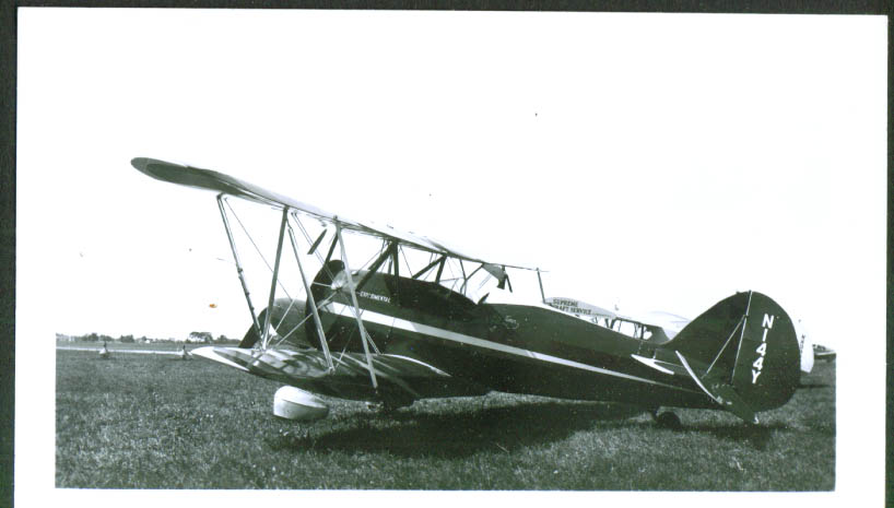 1930 Waco Model RNF photo TN N144Y Ray Timm Ithaca NE