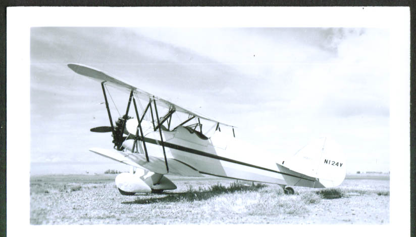 1930 Waco Model RNF photo TN N124Y