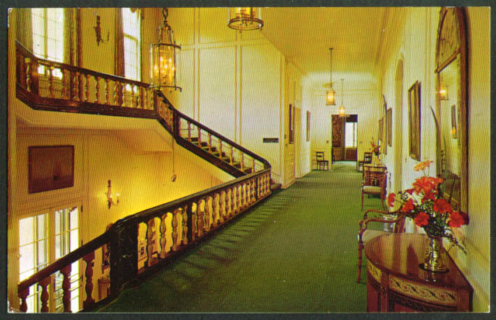 Image for Kingswood Hall Center Mansfield OH postcard 1950s