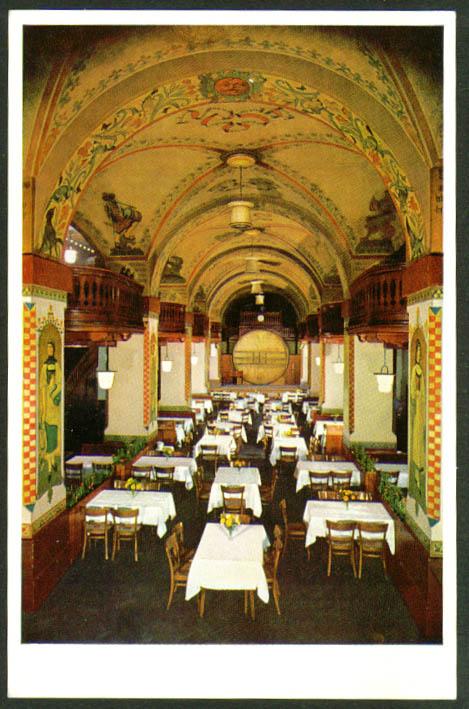 Kornhauskeller Berne Switzerland postcard 1950s