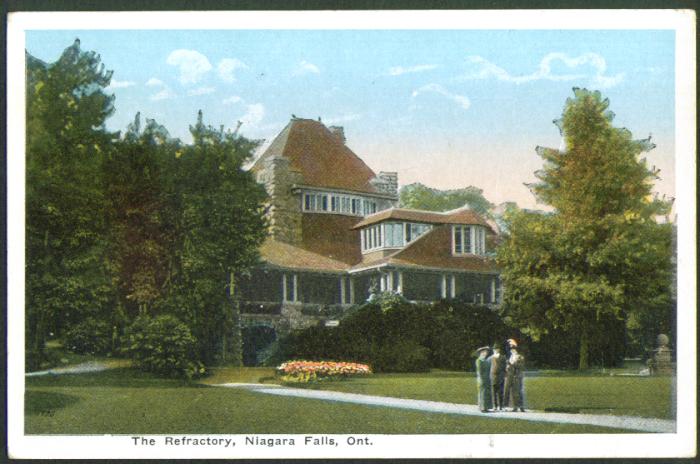 The Refractory Niagara Falls ON postcard 1910s