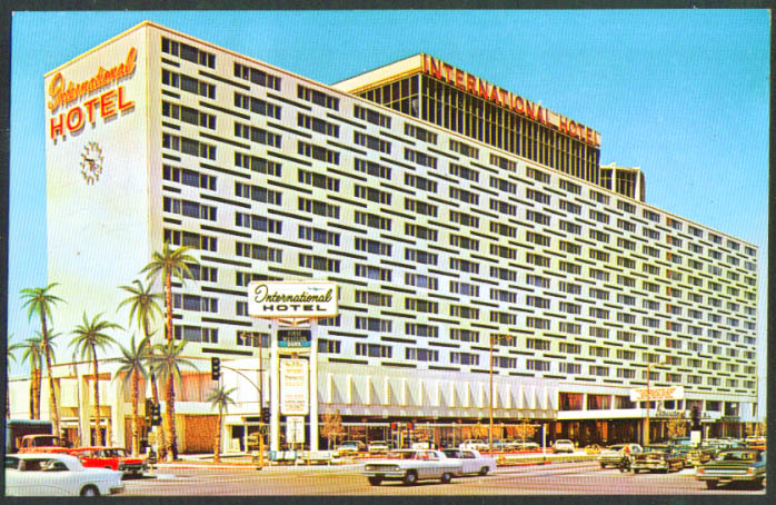 International Hotel LAX Los Angeles CA postcard 1960s