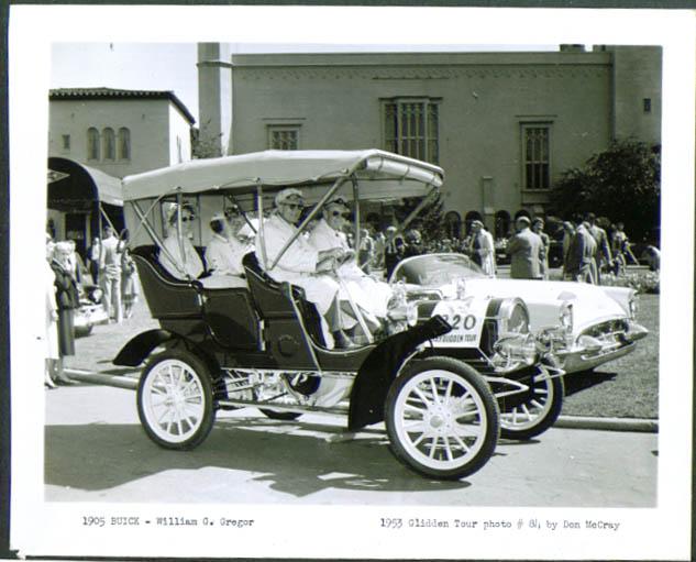 1905 Buick of William G Gregor 1953 Glidden Tour 4x5
