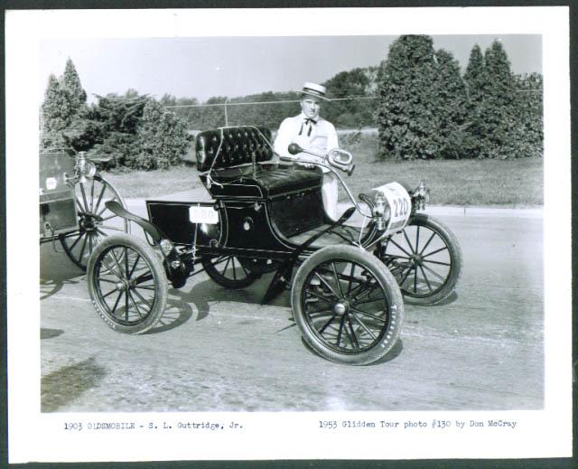 1903 Oldsmobile S L Guttridge Jr 1953 Glidden Tour 4x5