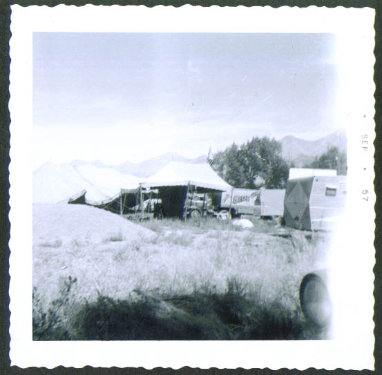 Image for Carson Barnes circus snapshot Mackey ID 1957