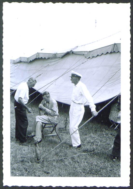 Image for Charles Hunt Jr Hunt Bros circus snapshot 1956
