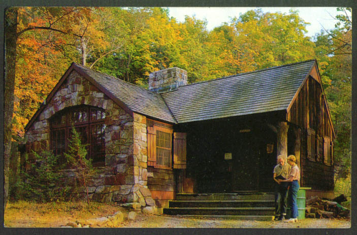 Office NJ School Conservation Branchville postcard 1970