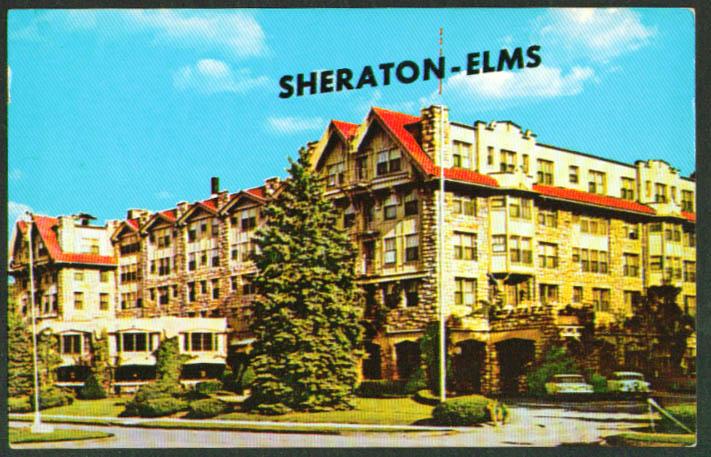 Sheraton Elms Hotel Excelsior Springs, MO Postcard