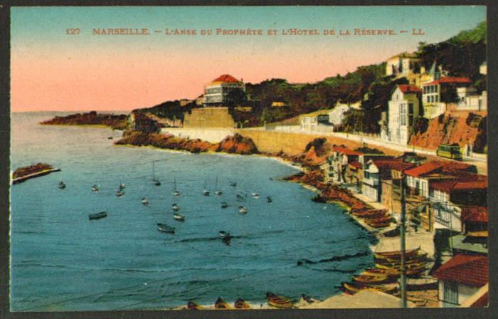 Anse Prophete Hotel Reserve Marseille France postcard