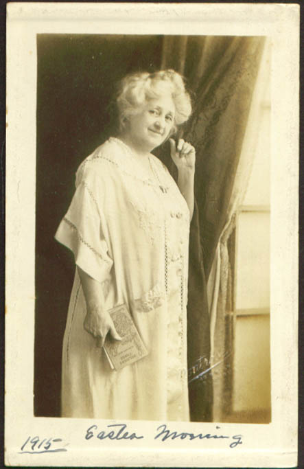 Image for Old gal reads Kipling on Easter Columbus OH RPPC 1915