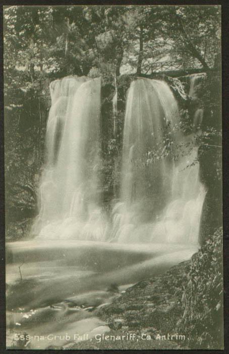 Ess-na-Grub Glenariff Antrim N Ireland postcard 1910s