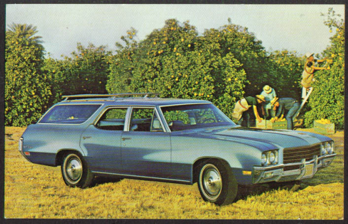 Title 1971 Buick Sportwagon Station Wagon postcard