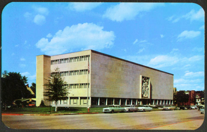Woodmen Accident & Life Building Lincoln NE postcard 1950s