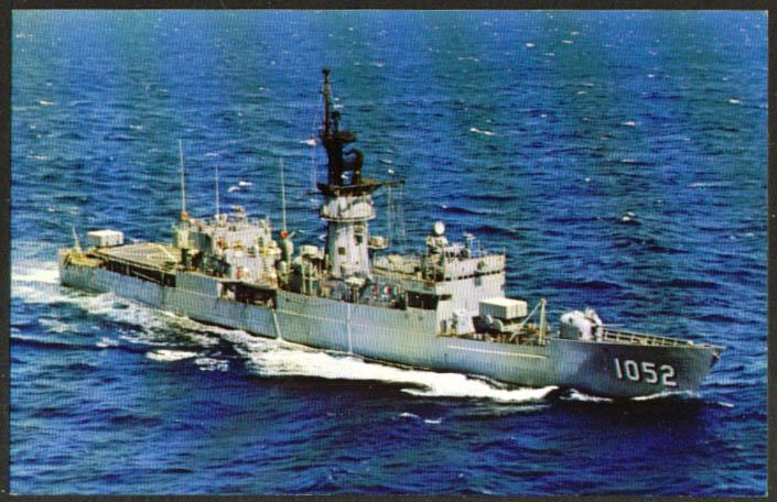 U S S Knox Fast Frigate FF-1052 postcard