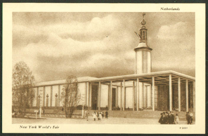 Netherlands Pavilion New York World's Fair postcard 1939