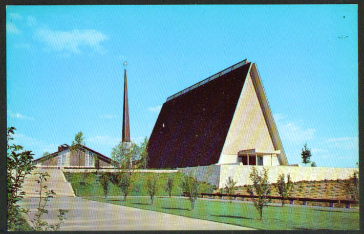 Kramer Chapel Concordia College Ft Wayne IN postcard