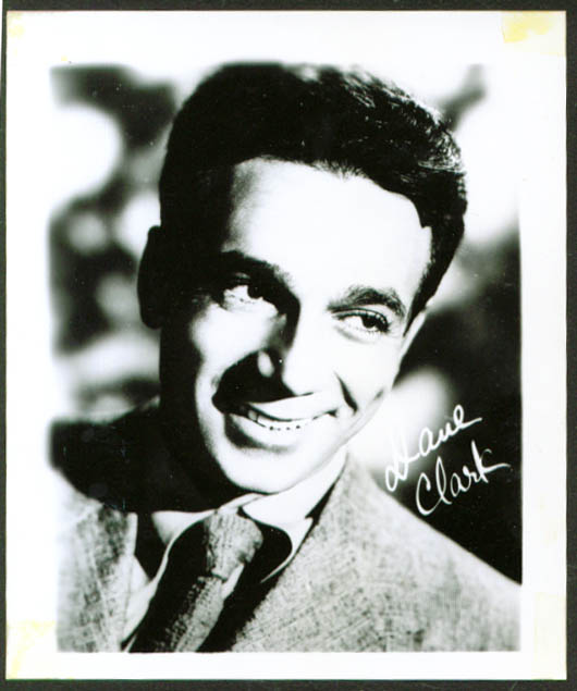 Dane Clark fan club photo 1950s