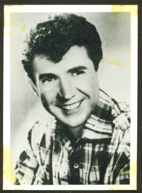 Country star Sonny James fan club photo 1950s