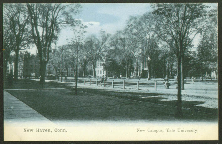 New Campus Yale University New Haven CT undivided back postcard 1900s