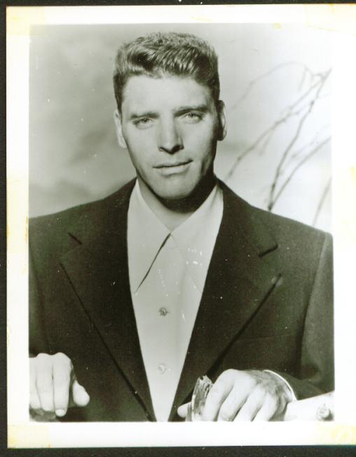 Movie actor Burt Lancaster fan club 4x5 1950s