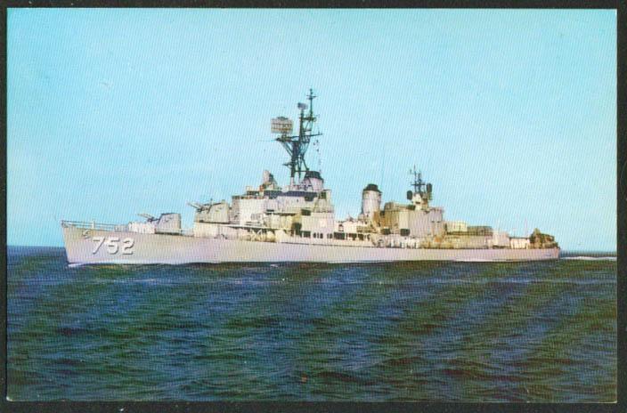 U S S Alfred A Cunningham Destroyer DD-752 postcard