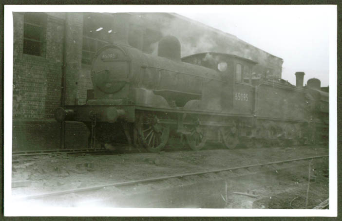 British 0-6-0 steam locomotive #65095 photo