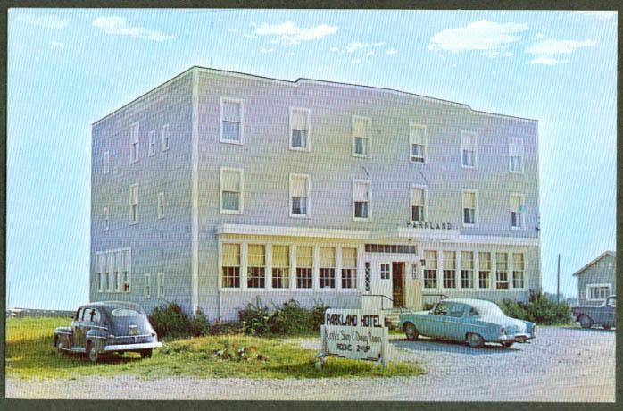Parkland Hotel Alma NS postcard 1950s