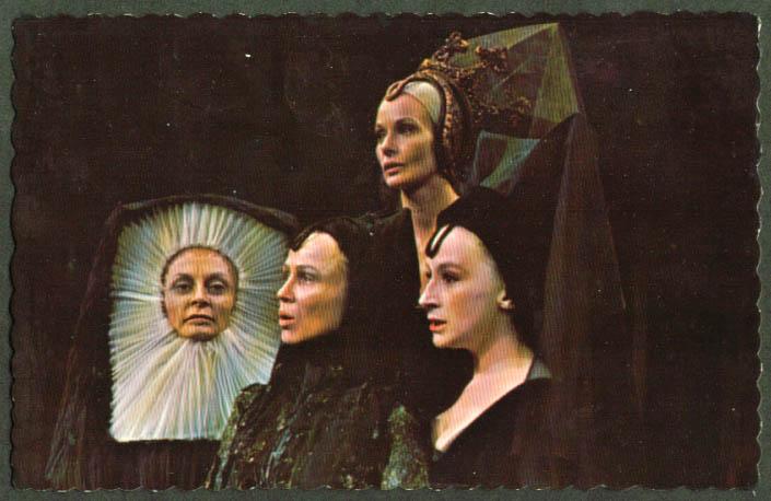 Richard III Shakespeare Fest Stratford ON postcard 1967