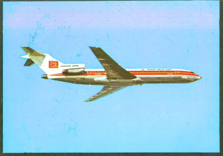 Tunis Air Boeing 727-200 postcard 1960s