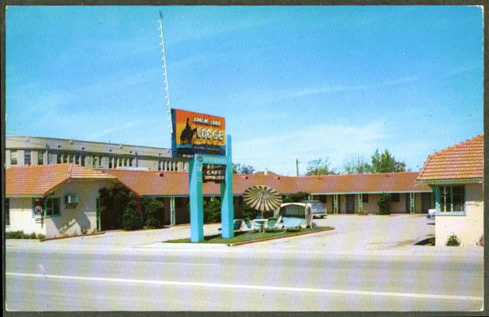 Apache Land Lodge US 60 & 70 Globe AZ postcard 1950s
