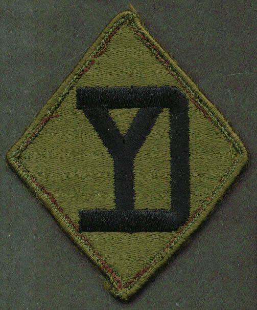 26th Infantry Brigade Combat Team SSI subdued patch
