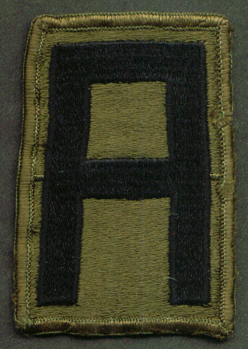 First United States Army SSI subdued patch
