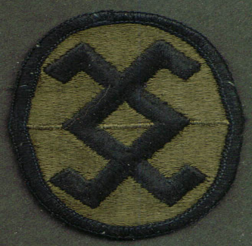 Image for US Army 120th Arcom SSI subdued patch